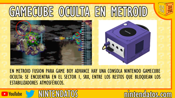 GameCube oculta en Metroid Fusion