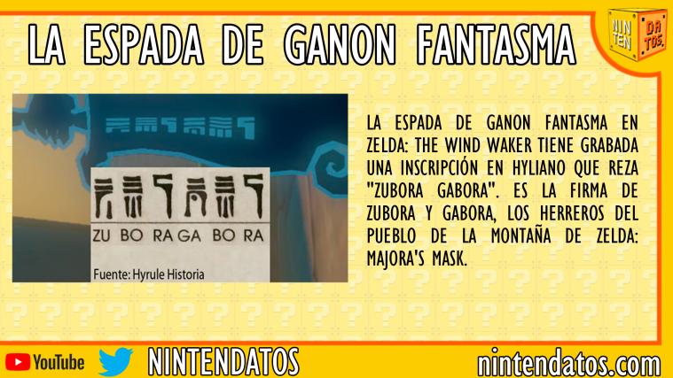 La espada de Ganon Fantasma