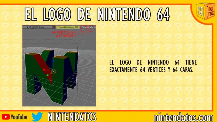 El logo de Nintendo 64