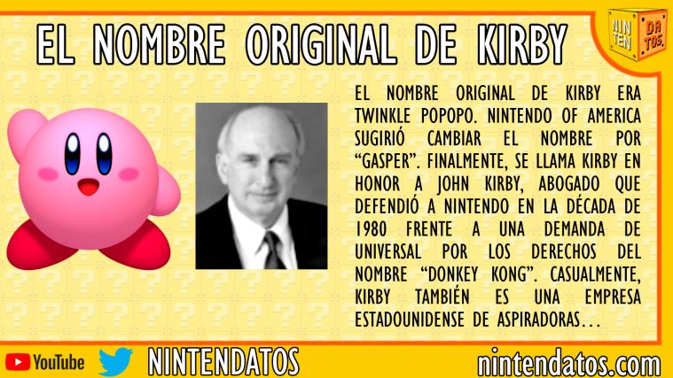 El nombre de Kirby