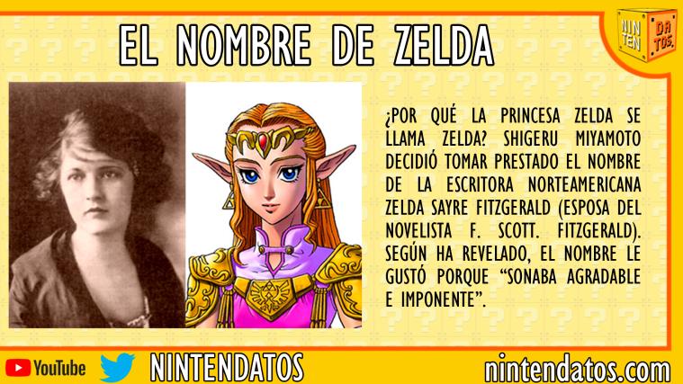 El nombre de Zelda
