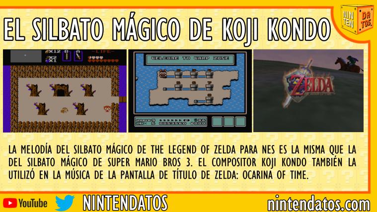 El silbato mágico de Koji Kondo