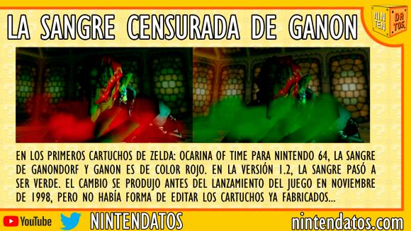 La sangre censurada de Ganon