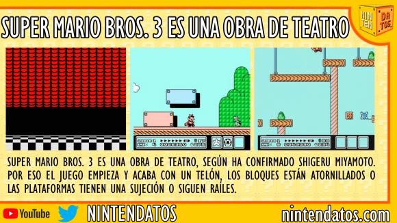 Super Mario Bros. 3 es una obra de teatro