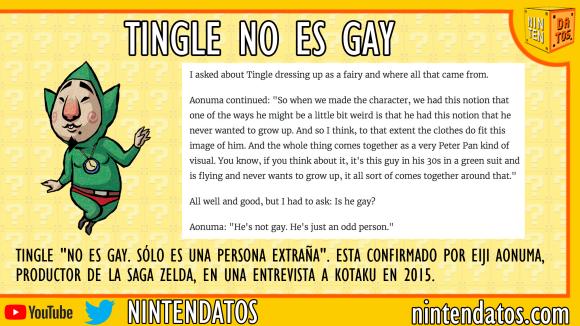 Tingle no es gay