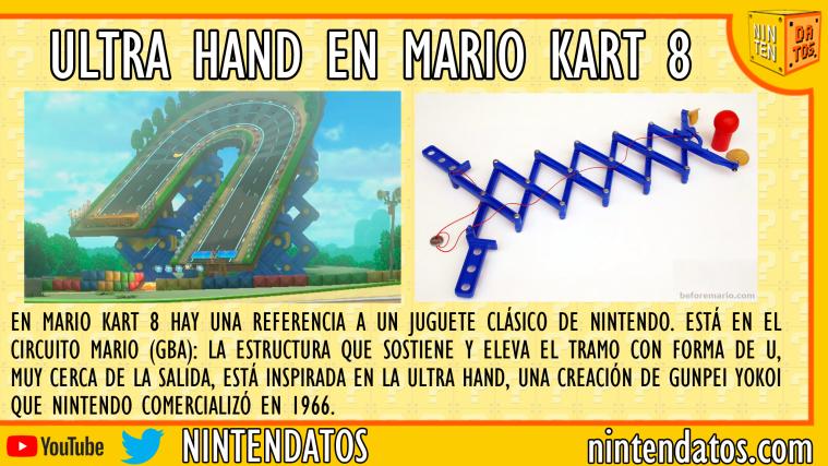 Ultra Hand en Mario Kart 8
