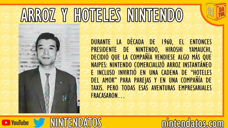 Arroz y hoteles Nintendo