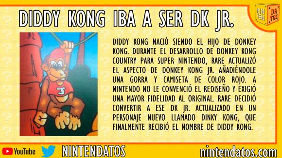 diddy iba a ser donkey kong jr