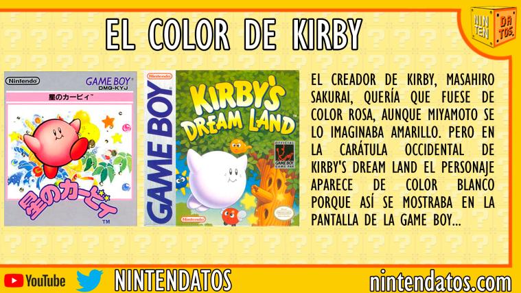 El color de Kirby