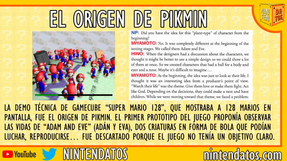 El origen de Pikmin