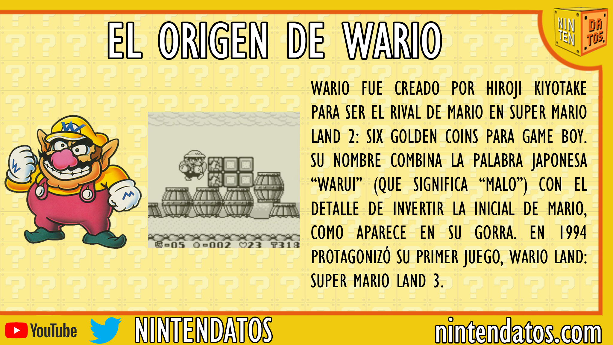 el origen de wario