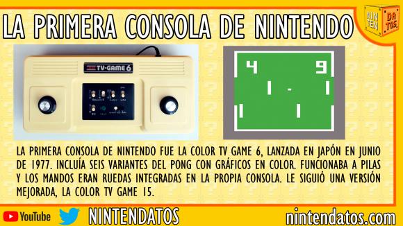 La primera consola de Nintendo