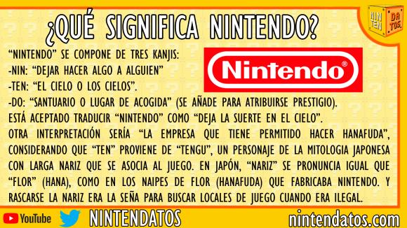 ¿Qué significa Nintendo?