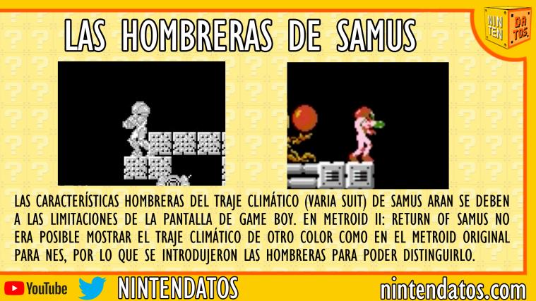 las hombreras de samus