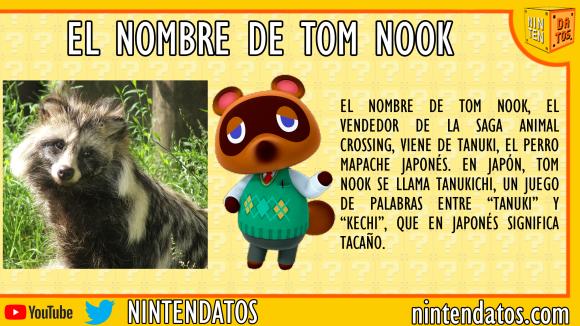 el nombre de tom nook