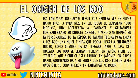 el origen de los boo