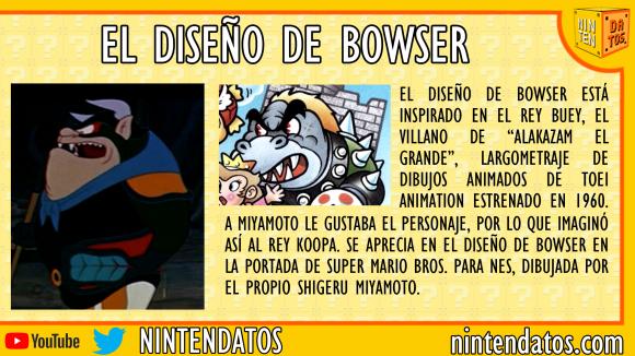 El diseño de Bowser