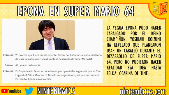 Epona en Super Mario 64
