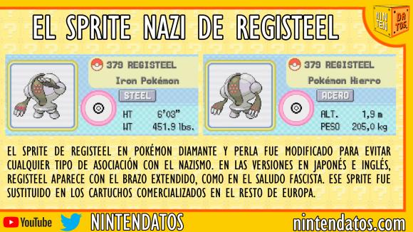 El sprite nazi de Registeel