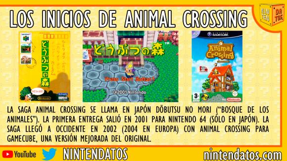 Los inicios de Animal Crossing