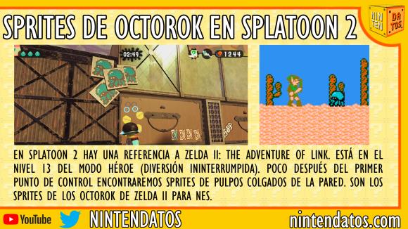 Sprites de Octorok en Splatoon 2