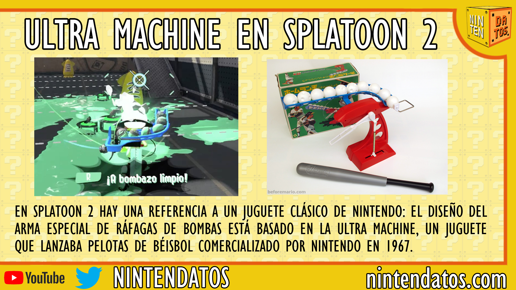 Ultra Machine en Splatoon 2