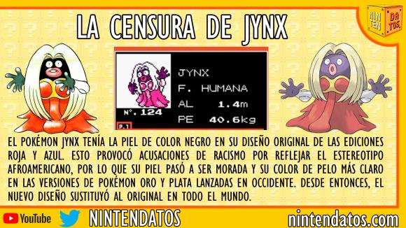 La censura de Jynx