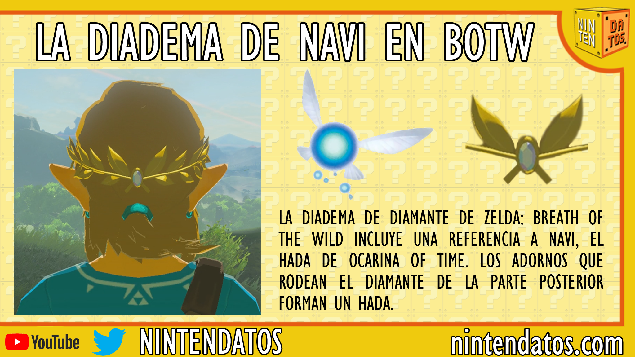 La diadema de Navi en Breath of the Wild