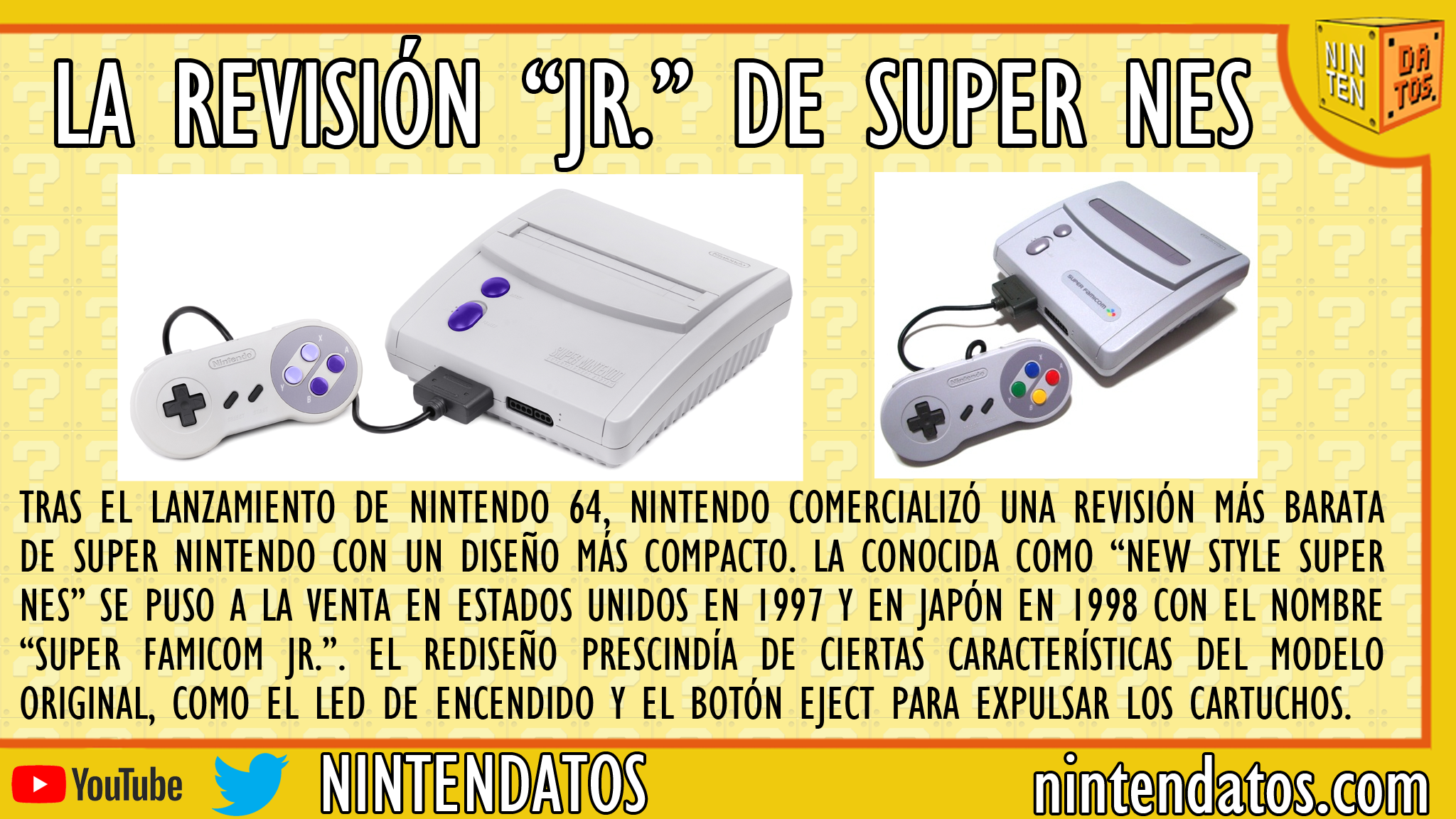 La revisión Jr de Super NES