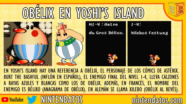 Obélix en Yoshi's Island