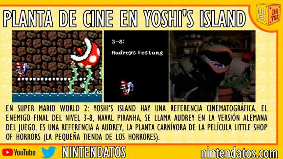 Planta de cine en Yoshi's Island