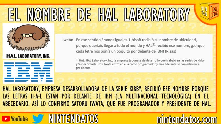 El nombre de HAL Laboratory