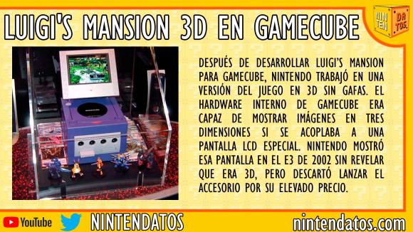 Luigi's Mansion 3D en GameCube