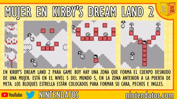 Mujer oculta en Kirby's Dream Land 2