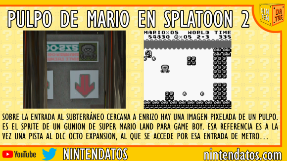Pulpo de Mario en Splatoon 2