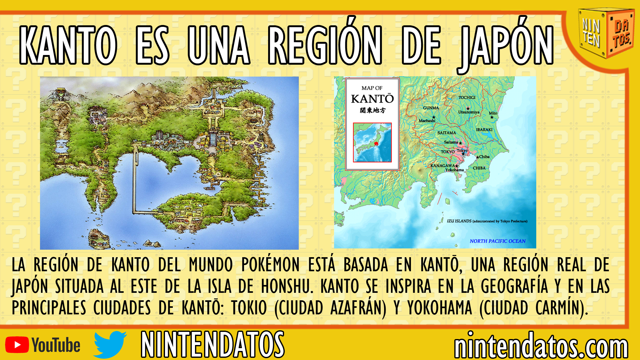 Kanto es una región de Japón