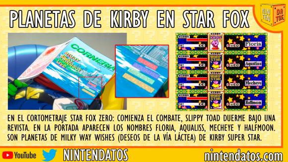 Planetas de Kirby en Star Fox Zero