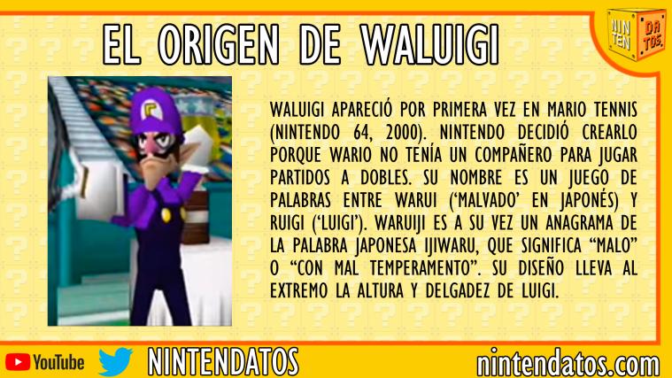El origen de Waluigi