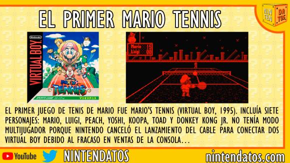 El primer Mario Tennis