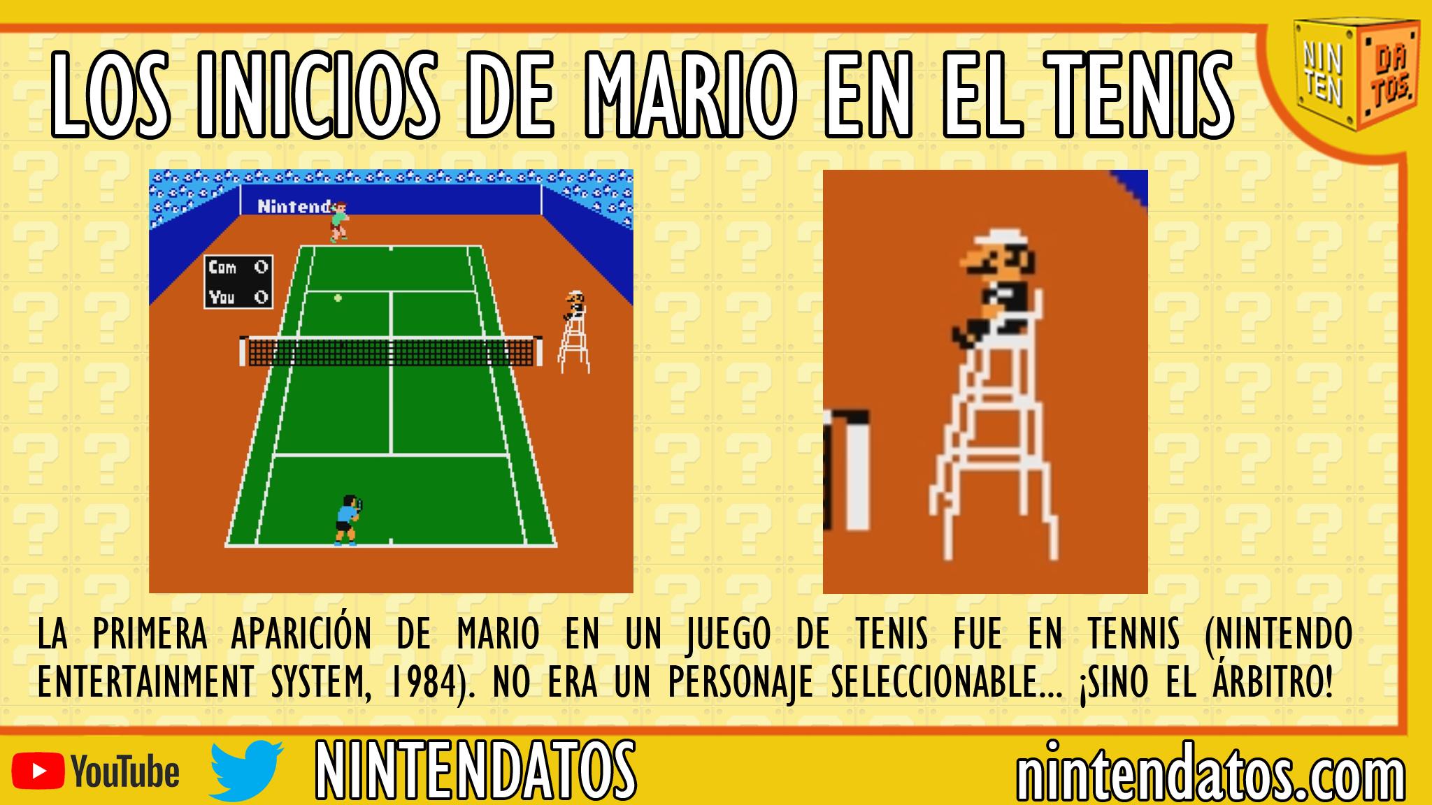 Los inicios de Mario en el tenis