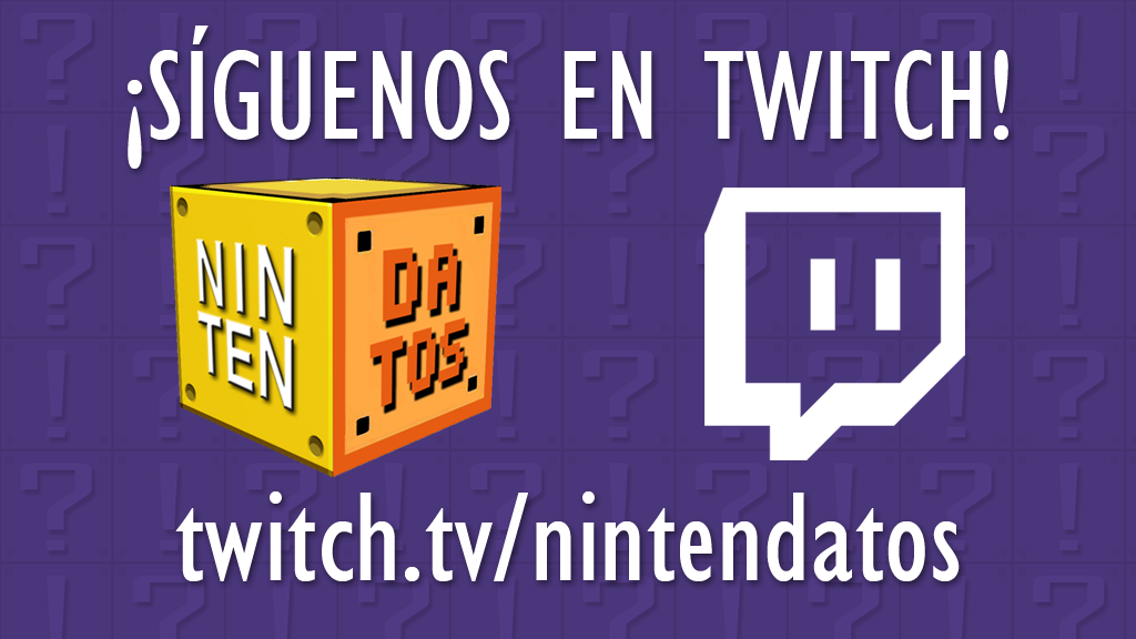 Nintendatos en Twitch